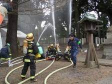 八幡神社消防演習 (11)