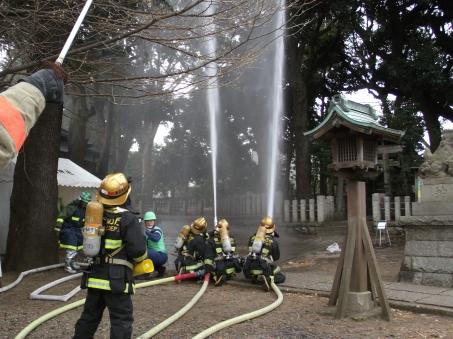 八幡神社消防演習 (13)