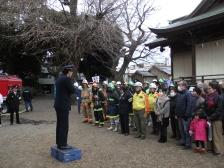 八幡神社消防演習 (2)